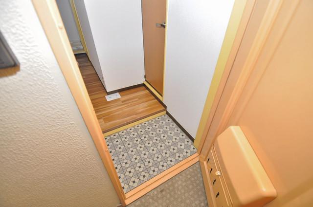 メダリアン巽 玄関を開けると解放感のある空間がひろがりますよ。