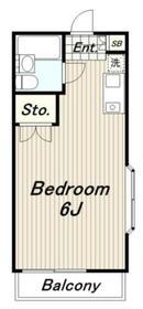 ビラロワール2階Fの間取り画像