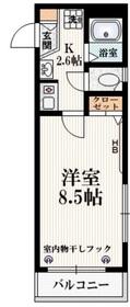 ヴァリ初台2階Fの間取り画像