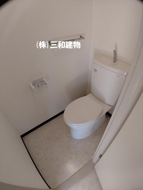 プラザサンタナカ2号館トイレ