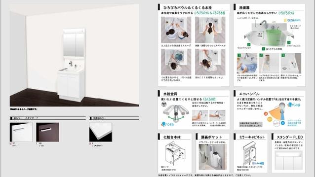 sungroom(スナァグルーム)洗面所