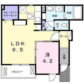 湘南台駅 バス15分「御所見市民センター」徒歩2分1階Fの間取り画像