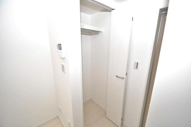 クロスレジデンス布施 もちろん収納スペースも確保。おかげでお部屋の中がスッキリ。