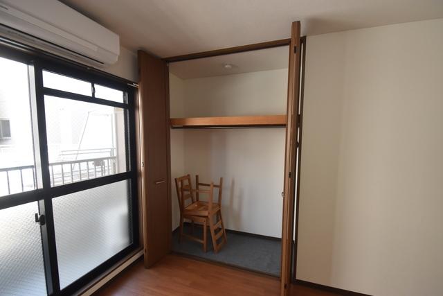 Q's(キューズ) もちろん収納スペースも確保。いたれりつくせりのお部屋です。