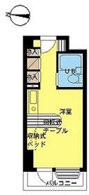 インペリアル南麻布サテライト1階Fの間取り画像