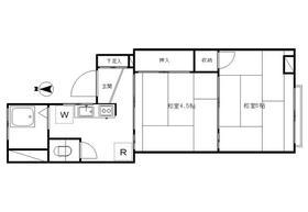 トノヅカビル3階Fの間取り画像