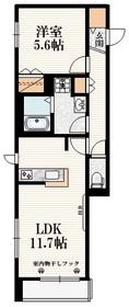 テラ フォルテ S3階Fの間取り画像