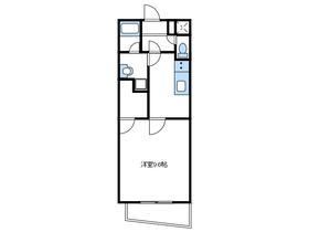 プレジールK3階Fの間取り画像