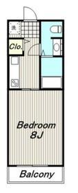 KSPマンション1階Fの間取り画像