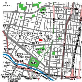 パークアクシス御茶ノ水ステージ案内図