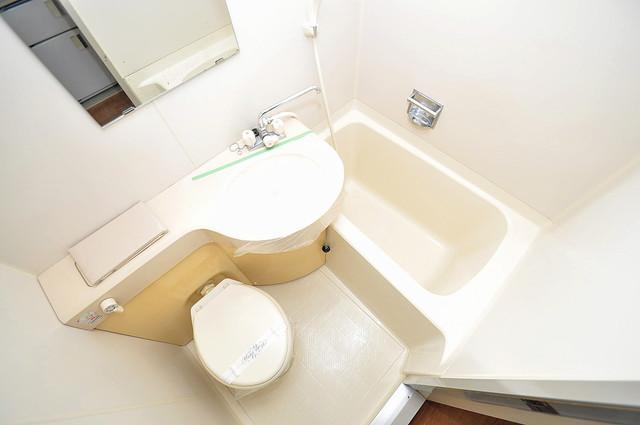 デ・リード高井田駅前 一日の疲れを洗い流す大切な空間。ゆったりくつろいでください。