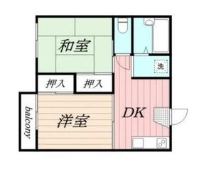上星川駅 徒歩8分2階Fの間取り画像