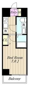 Chateau Life Sagamihara Ⅱ6階Fの間取り画像