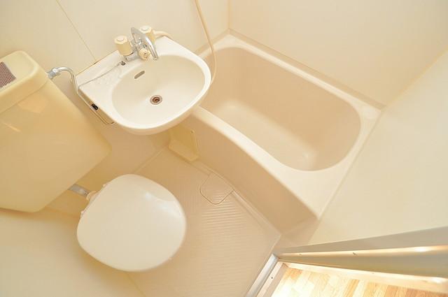 YOUハイム寿Ⅱ番館 シャワー1本で水回りが簡単に掃除できますね。