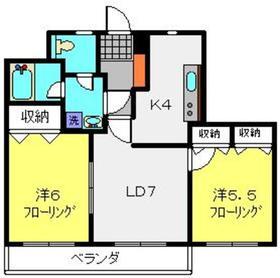 ロイヤルドレイク3階Fの間取り画像