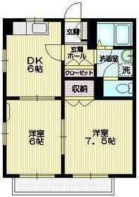 北府中駅 徒歩11分1階Fの間取り画像