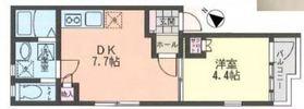 リーヴェルポート横浜南Alba1階Fの間取り画像