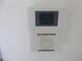モニター付インターホンで安心です