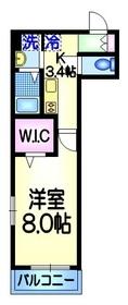 メゾン グレイスⅡ3階Fの間取り画像