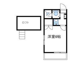 ウッドコーポ2階Fの間取り画像