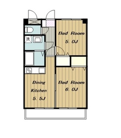 メゾンサモワール5階Fの間取り画像