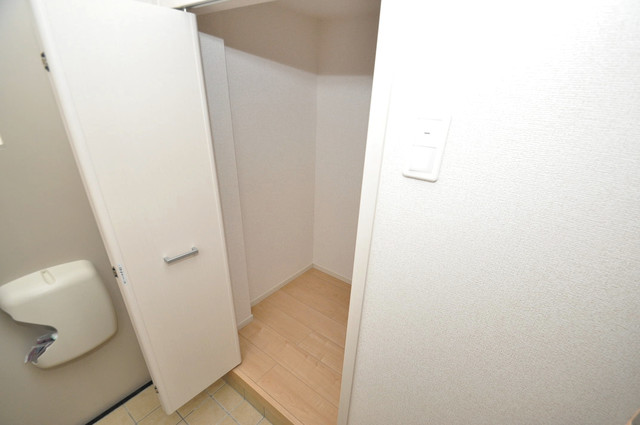ラヴィエベル もちろん収納スペースも確保。いたれりつくせりのお部屋です。