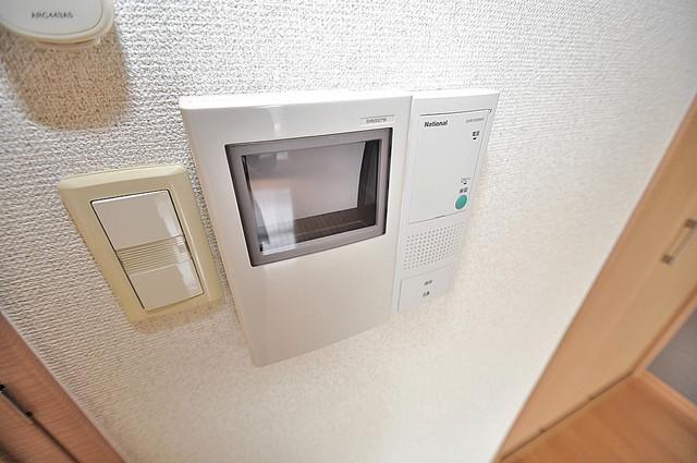グランデージ長田東 TVモニターホンは必須ですね。扉は誰か確認してから開けて下さいね