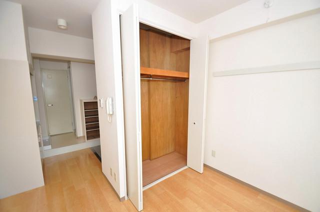 フォレステージュ長瀬 もちろん収納スペースも確保。おかげでお部屋の中がスッキリ。