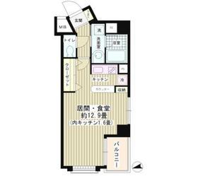 ウィステリアコート4階Fの間取り画像