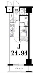 グリフィン横浜・山下公園弐番館3階Fの間取り画像
