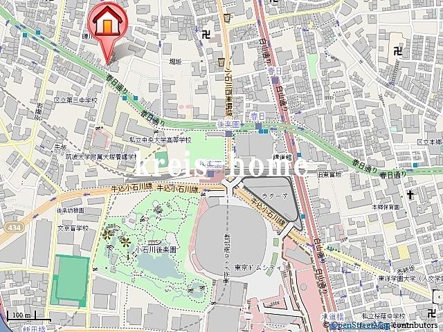 小石川富坂レジデンス案内図