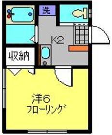 メルベージュ日吉1階Fの間取り画像