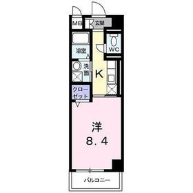 向ヶ丘遊園駅 徒歩13分1階Fの間取り画像