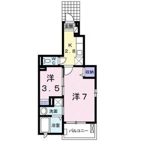 ラテル元町1階Fの間取り画像