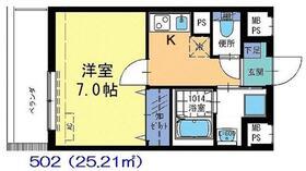 エスパシオ アウローラ5階Fの間取り画像