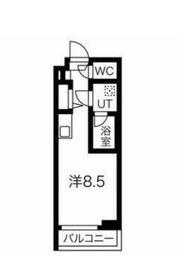 クラリッサ川崎梶ヶ谷3階Fの間取り画像