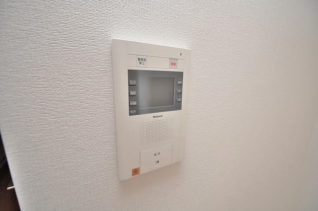 CASSIA高井田NorthCourt モニター付きインターフォンでセキュリティ対策もバッチリ。