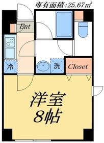 デュオメゾン東京スカイツリー1階Fの間取り画像