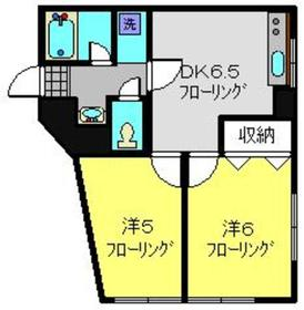 日吉本町駅 徒歩3分1階Fの間取り画像