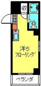 ボーテ日吉シェモア2階Fの間取り画像