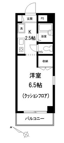 ネオスペース角田間取図