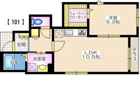 フェミーエ南町田Ⅰ1階Fの間取り画像