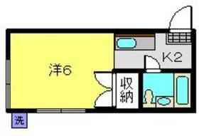 元住吉駅 徒歩16分1階Fの間取り画像