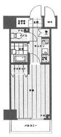 東日本橋駅 徒歩4分11階Fの間取り画像
