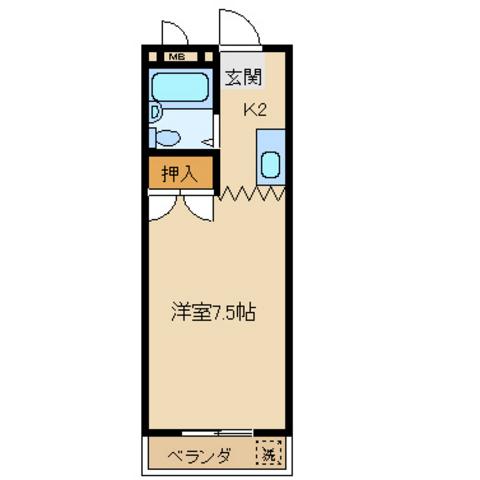 洋室7.5 K
