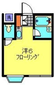 サンサーラにしき岡沢2階Fの間取り画像