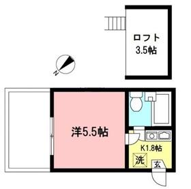 小田急相模原駅 徒歩12分1階Fの間取り画像