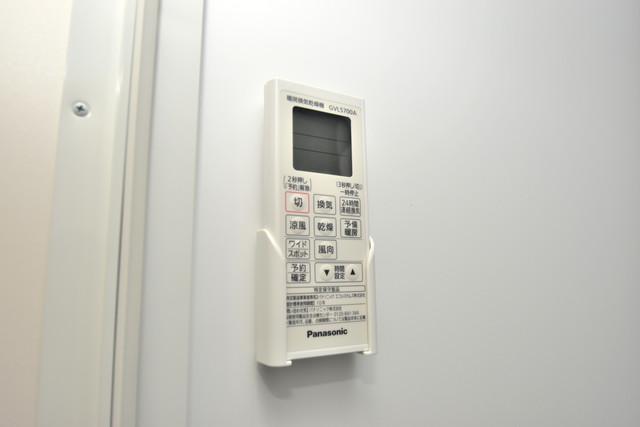ハーモニーテラス新今里Ⅱ 浴室乾燥機がついていますよ。