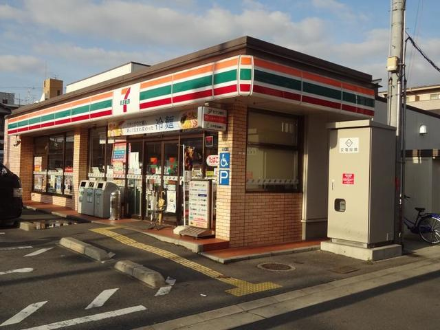 セジュールオッツ八戸ノ里 セブンイレブン東大阪御厨南店