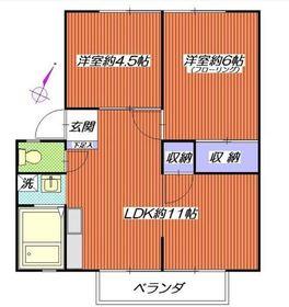 泉タウン301階Fの間取り画像
